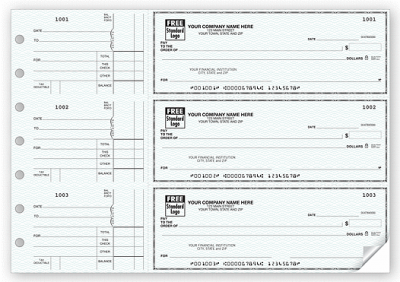 3 On A Page Side Tear Business Size Checks with Voucher e1304128192194 Side Tear Business Checks