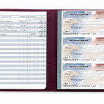 Checkbook Registers Secretary Deskbook Check Register 56202N by Deluxe 150x150 Banking Supplies