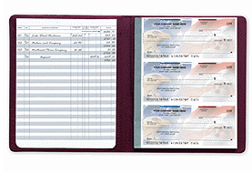 Checkbook Registers Secretary Deskbook Check Register 56202N by Deluxe Business Check Registers