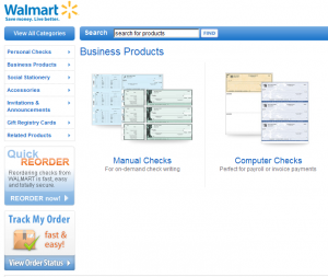 Business Products Walmart Check Printing Every Day Low Prices 300x253 Walmart Business Checks