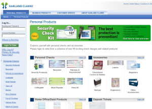 Harland Business Checks - Reorder Online & Save